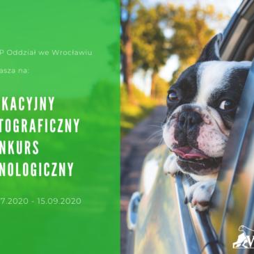Wakacyjny Fotograficzny Konkurs Kynologiczny.