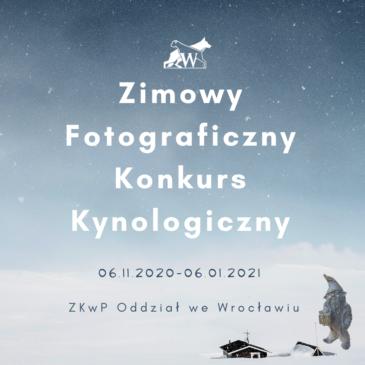 Zimowy Fotograficzny Konkurs Kynologiczny